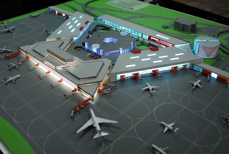Аэропорт макет своими руками 94